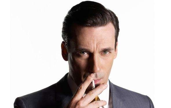 Jon Hamm as Don Draper in the hit