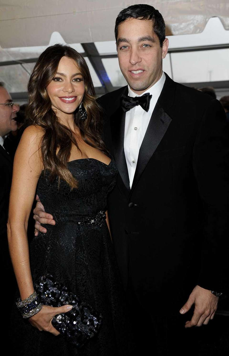 Sofia Vergara and Nick Loeb attend the Yahoo!