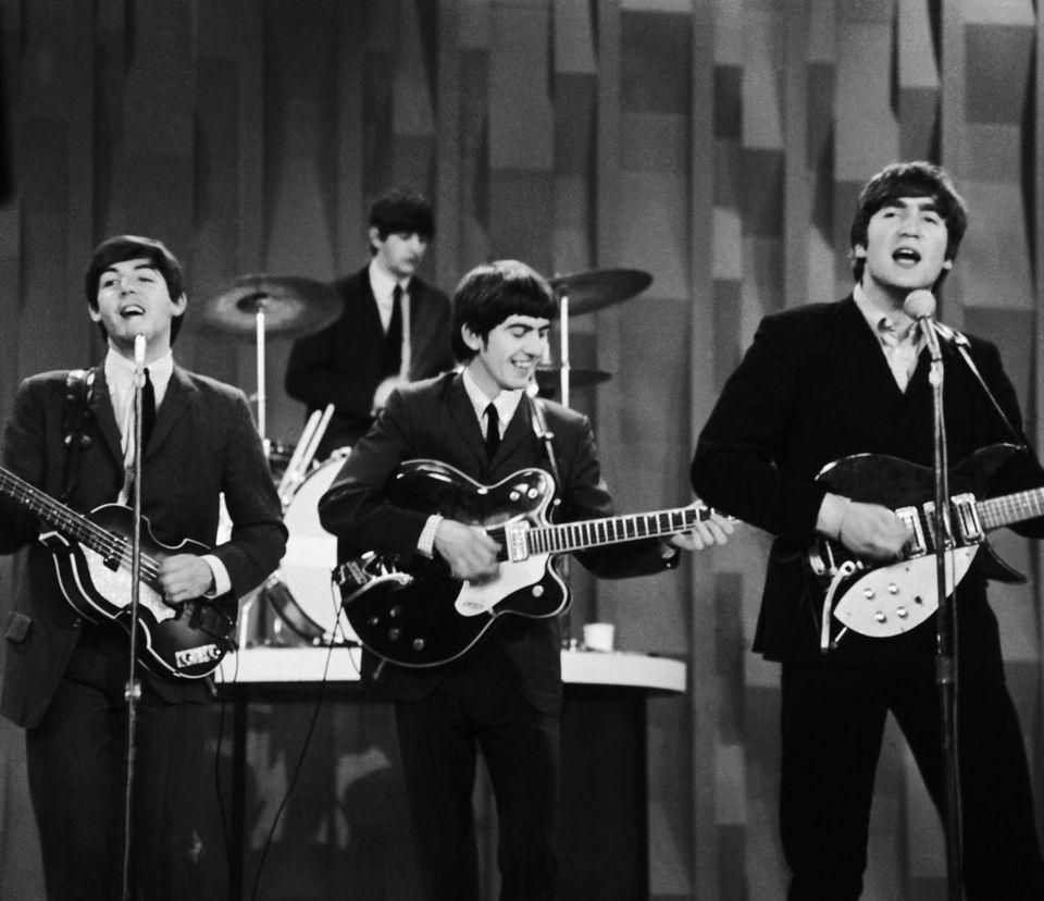 "8. The Beatles perform on the CBS ""Ed"