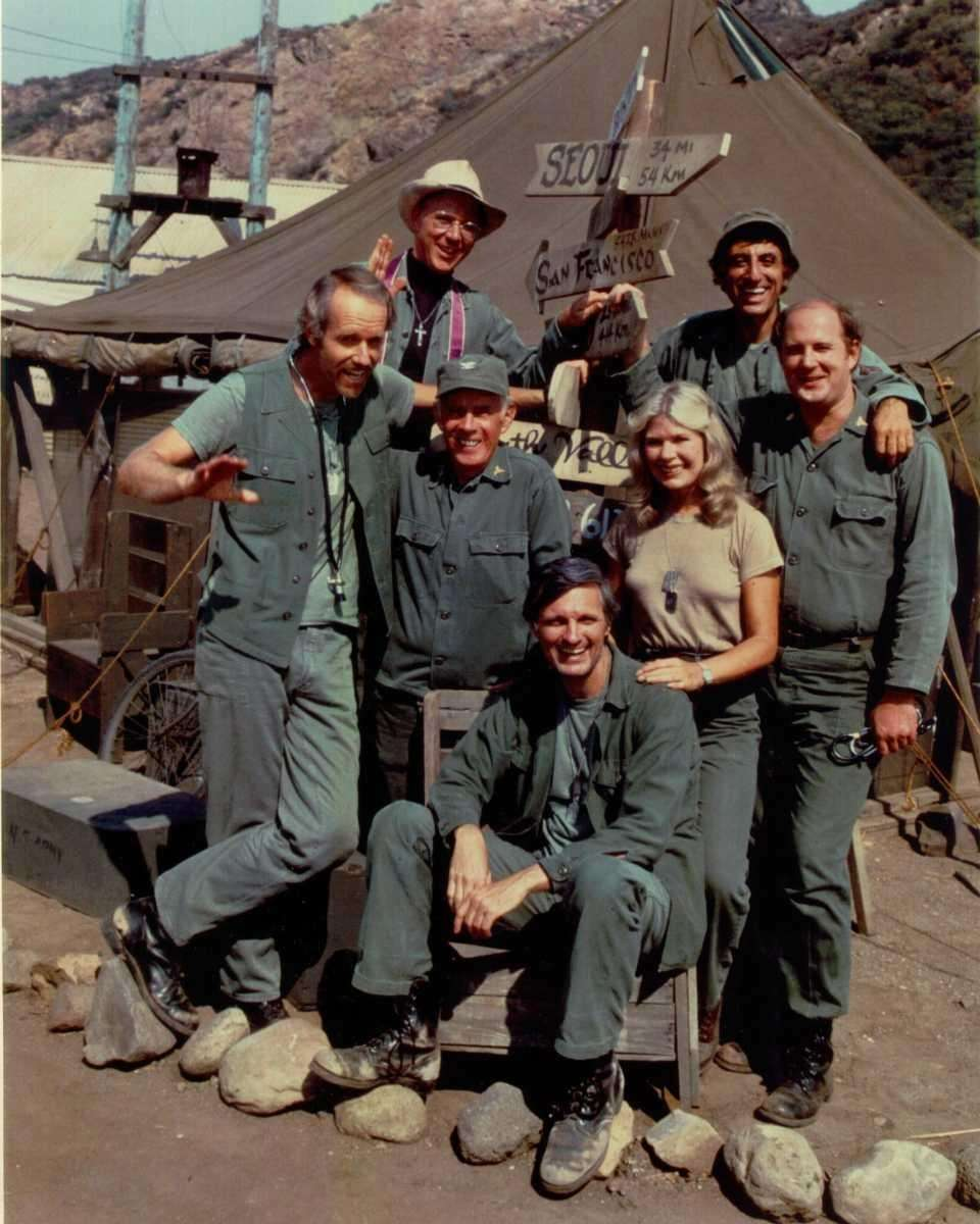 "7. The finale of M*A*SH ""Goodbye, Farewell and"