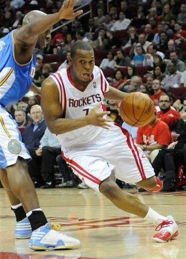 Houston Rockets' Kyle Lowry (7) during the first