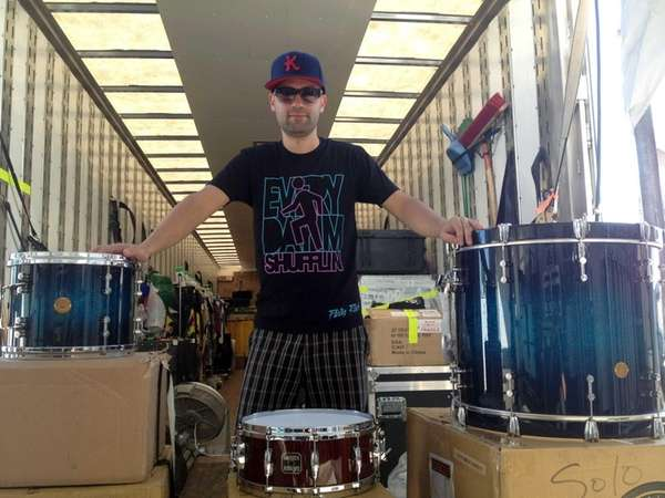 Seaford's Kris Mazzarisi is the new drummer for