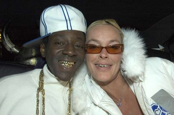 Rapper Flavor Flav, a Long Island native, and