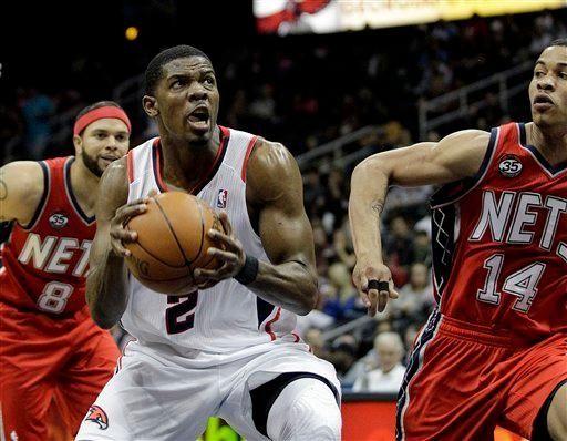 July 11, 2012 Hawks trade Joe Johnson to