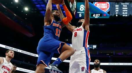 New York Knicks forward Marcus Morris Sr. (13)