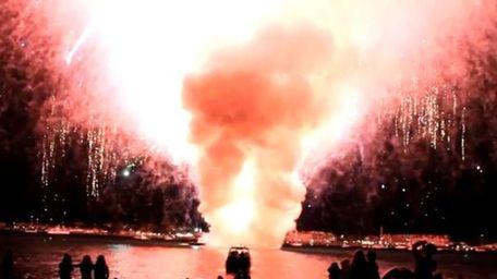San Diego firework disaster