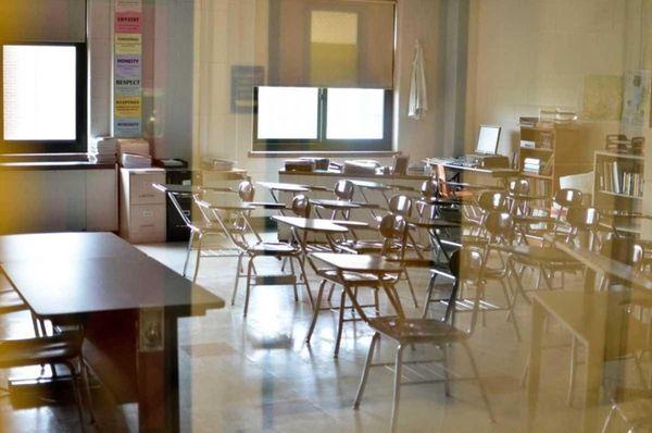 Classrooms across Long Island were empty on Thursday.