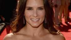 Nascar driver Danica Patrick arrives at the 2012
