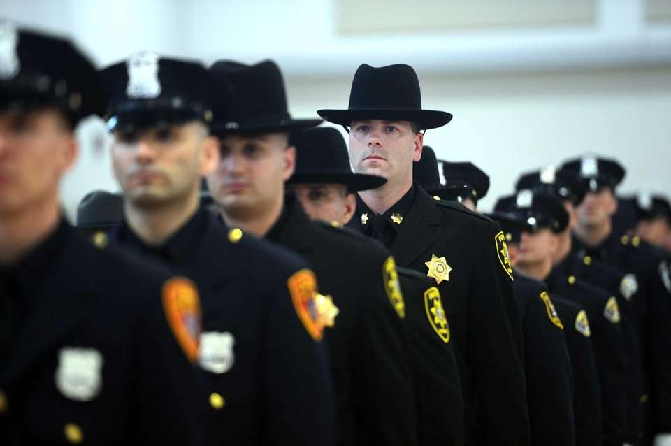 The Suffolk County Police Academy trains officers for