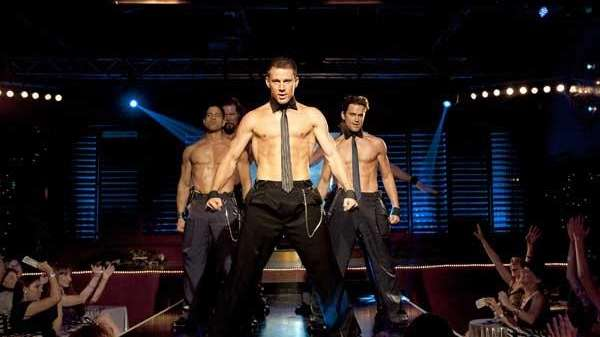 (L-R) Adam Rodriguez, Kevin Nash, Channing Tatum, and