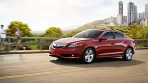 The Acura ILX with a starting price of
