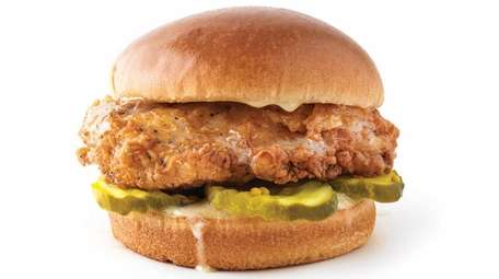 The Honey Butter chicken sandwich at PDQ, a