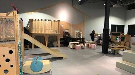 The open play area at Social Play Haus