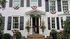 Three Village Historical Society holiday home tour.