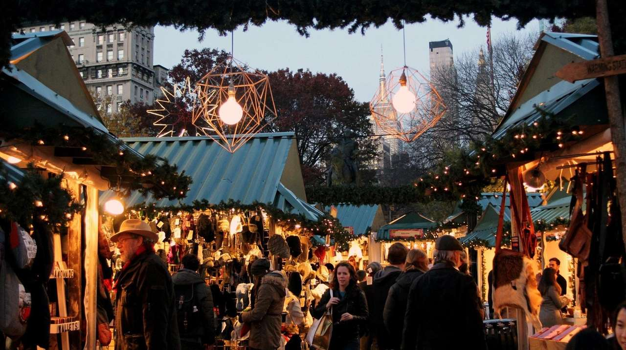 6 holiday markets to visit in NYC
