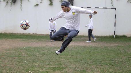 Rana Al Khateeb, a 23-year-old member of a