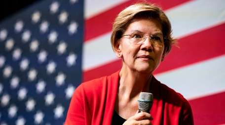 2020 Democratic Presidential candidate Senator Elizabeth Warren at