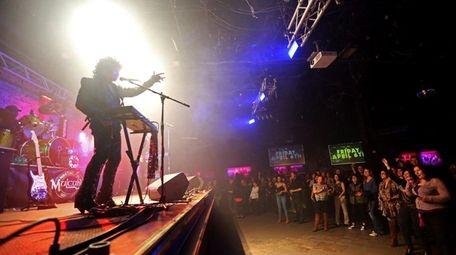 Julian Stefani leads a Prince tribute band called