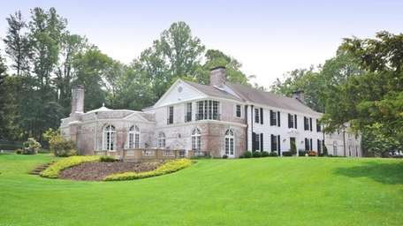 This Mill Neck estate, on the market for