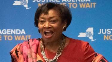 Andrea Stewart-Cousins, majority leader of the New York