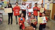 In Holbrook, students at Merrimac Elementary School in