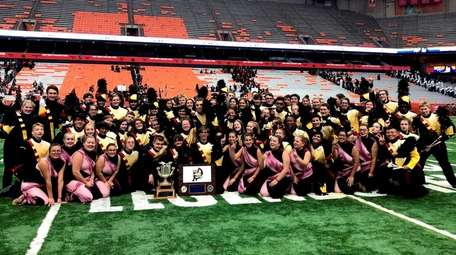Sachem Central School District's marching band placed first