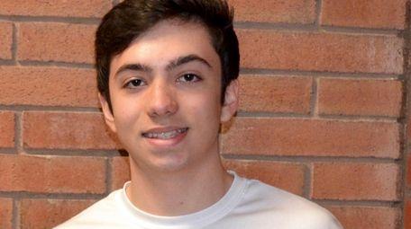 James Parco, a junior at Lynbrook High School,