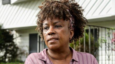 Valerie St. Bernard, a retired Rikers Island correction