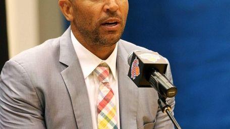 One of the newest Knicks, Jason Kidd, talks