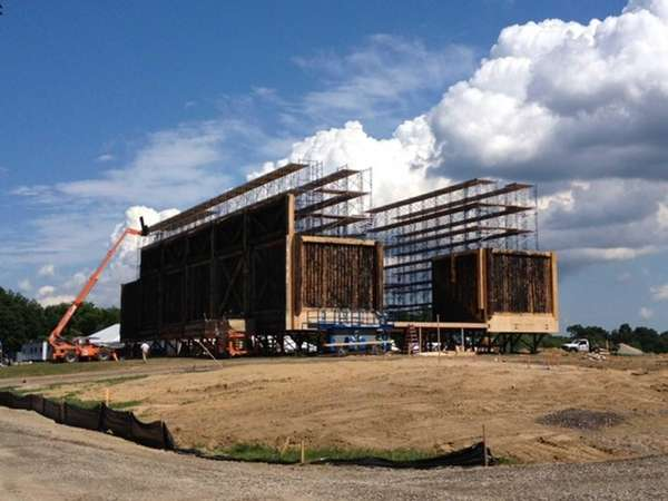 "A ""Noah"" construction site is being built for"