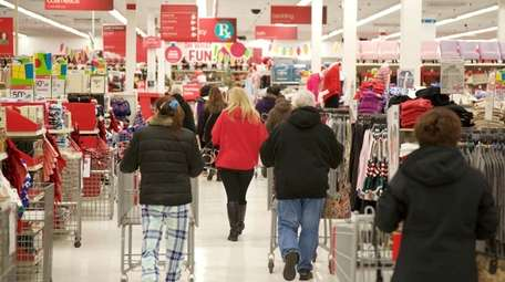 Shoppers look for bargains at the Sayville Kmart