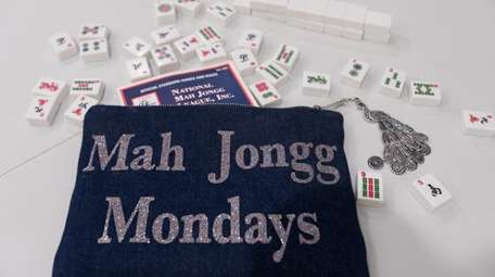 "A ""Mah Jongg Mondays,"" bag is pictured at"