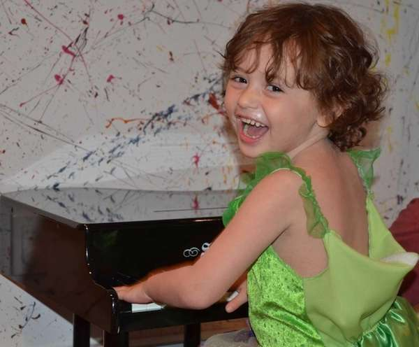 Penelope Ruderman, 5, of Sea Cliff, was diagnosed