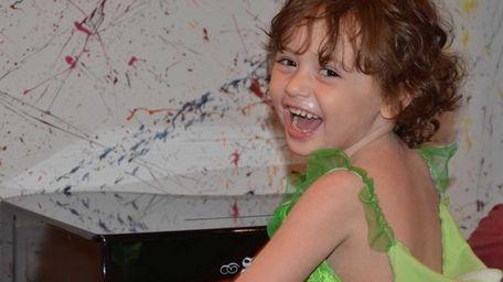 Penelope Ruderman, 5, of Sea Cliff, was diagnosed