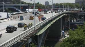 Construction on the Alexander Hamilton Bridge will squeeze