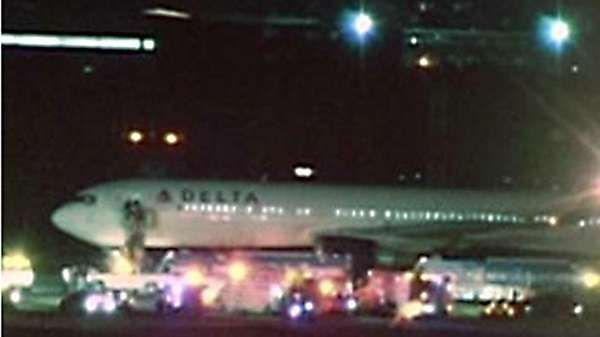 Delta Flight 126 was redirected back to Kennedy