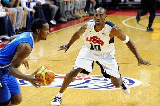 United States Olympic men's basketball team member Kobe