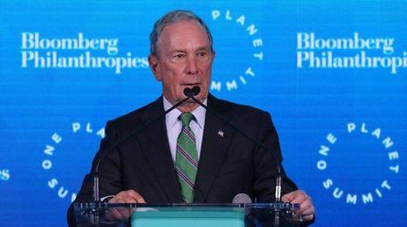 Former New York Mayor Michael Bloomberg on the
