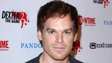 Michael C. Hall attends a red carpet event