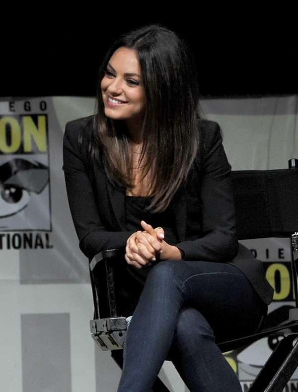 "Actress Mila Kunis speaks at the ""Oz: The"