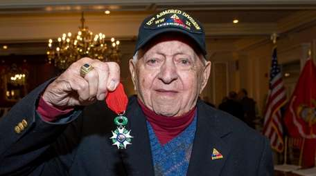 James Uvena, a 100-year-old World War II Army