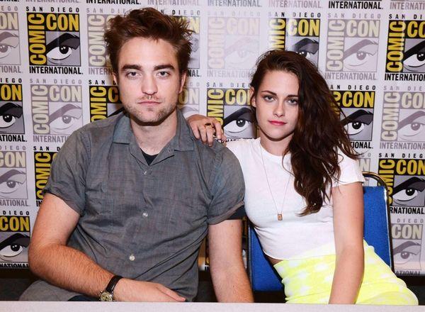 Robert Pattinson and Kristen Stewart attend