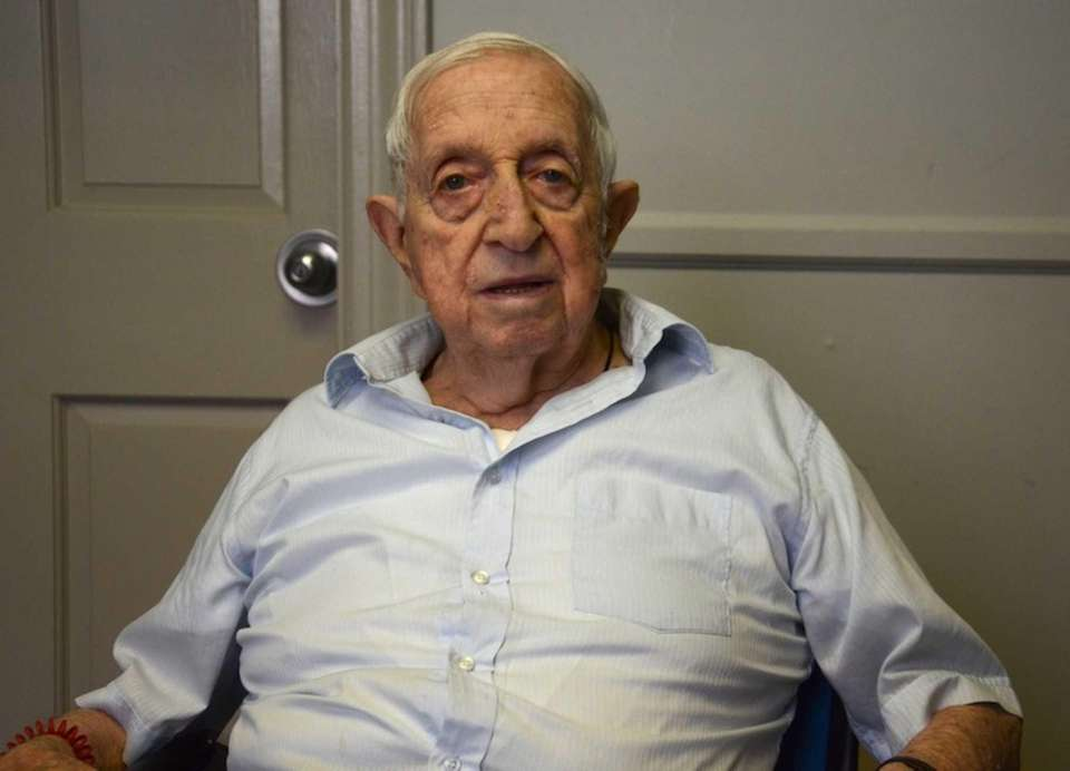 Irving Miller, 92, of Glen Cove, spent most