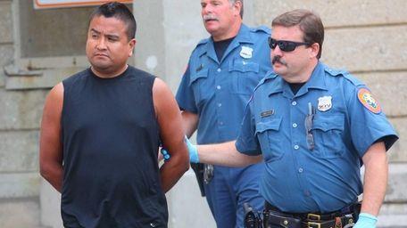 Roberto Villavicencio of Westchester County was arrested Thursday