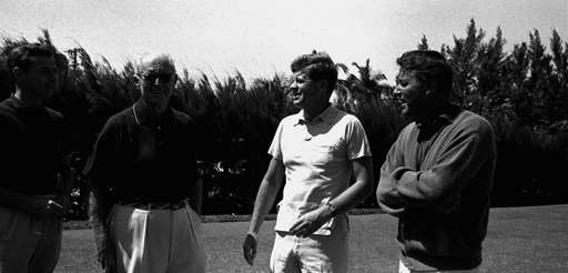 President Kennedy at the Palm Beach Country Club
