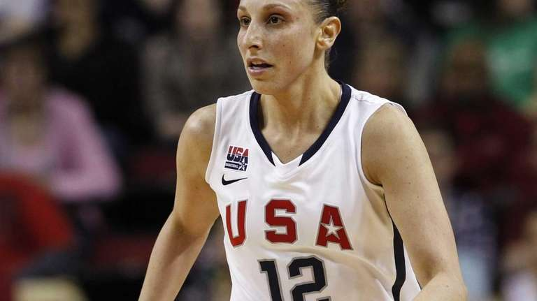Team USA's Diana Taurasi competes against China in