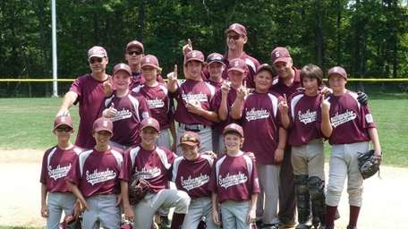 Southampton 12-year-olds are the District 36 champions. Friday