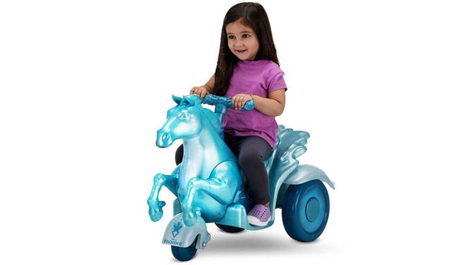 Little Frozen fans can ride on this Nokk,