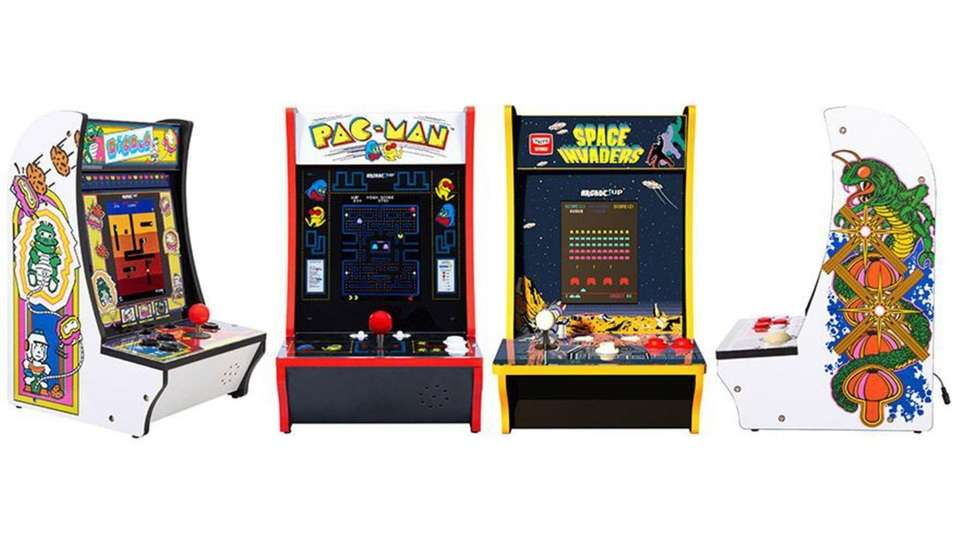 Create an arcade at home with these counter-top