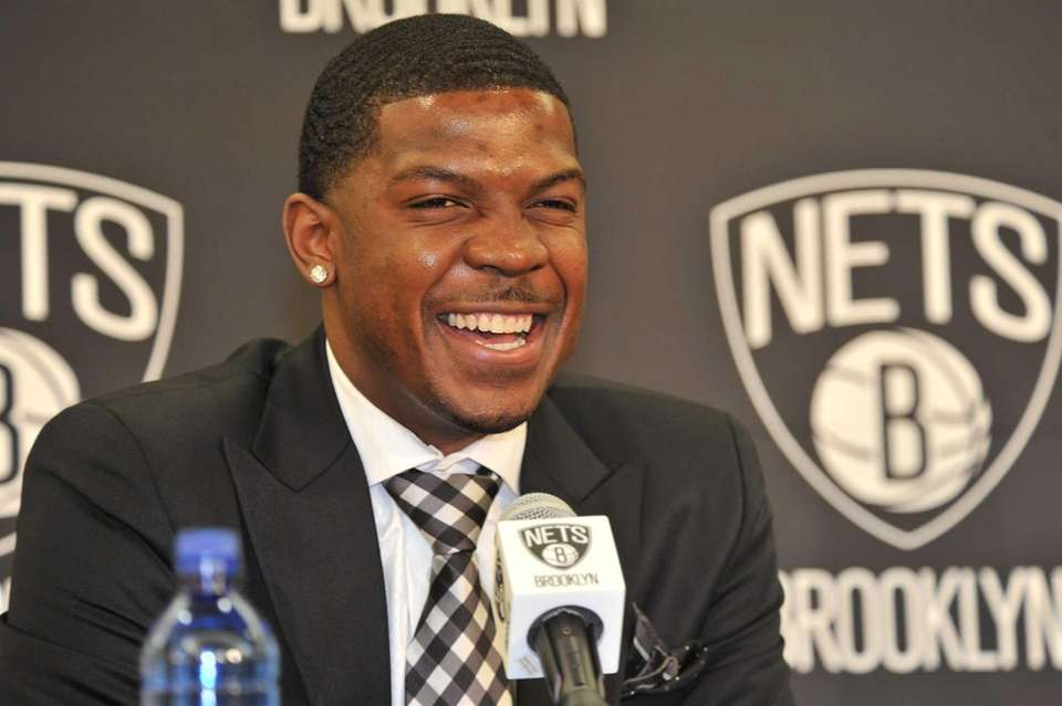 Joe Johnson, who was acquired by the Brooklyn